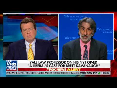 Yale Law professor bolsters Kavanaugh at confirmation hearing