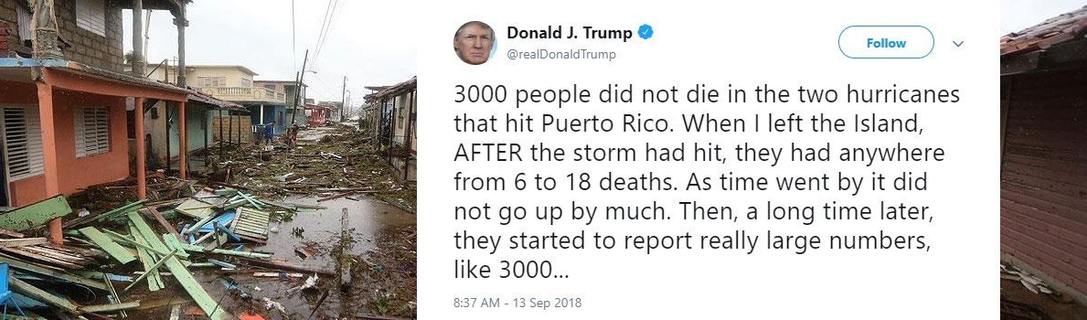 Trump's instant injury to the Puerto Rican soul