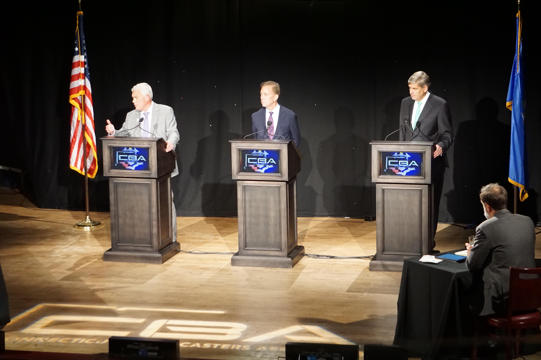 Temperature rising in gubernatorial debate