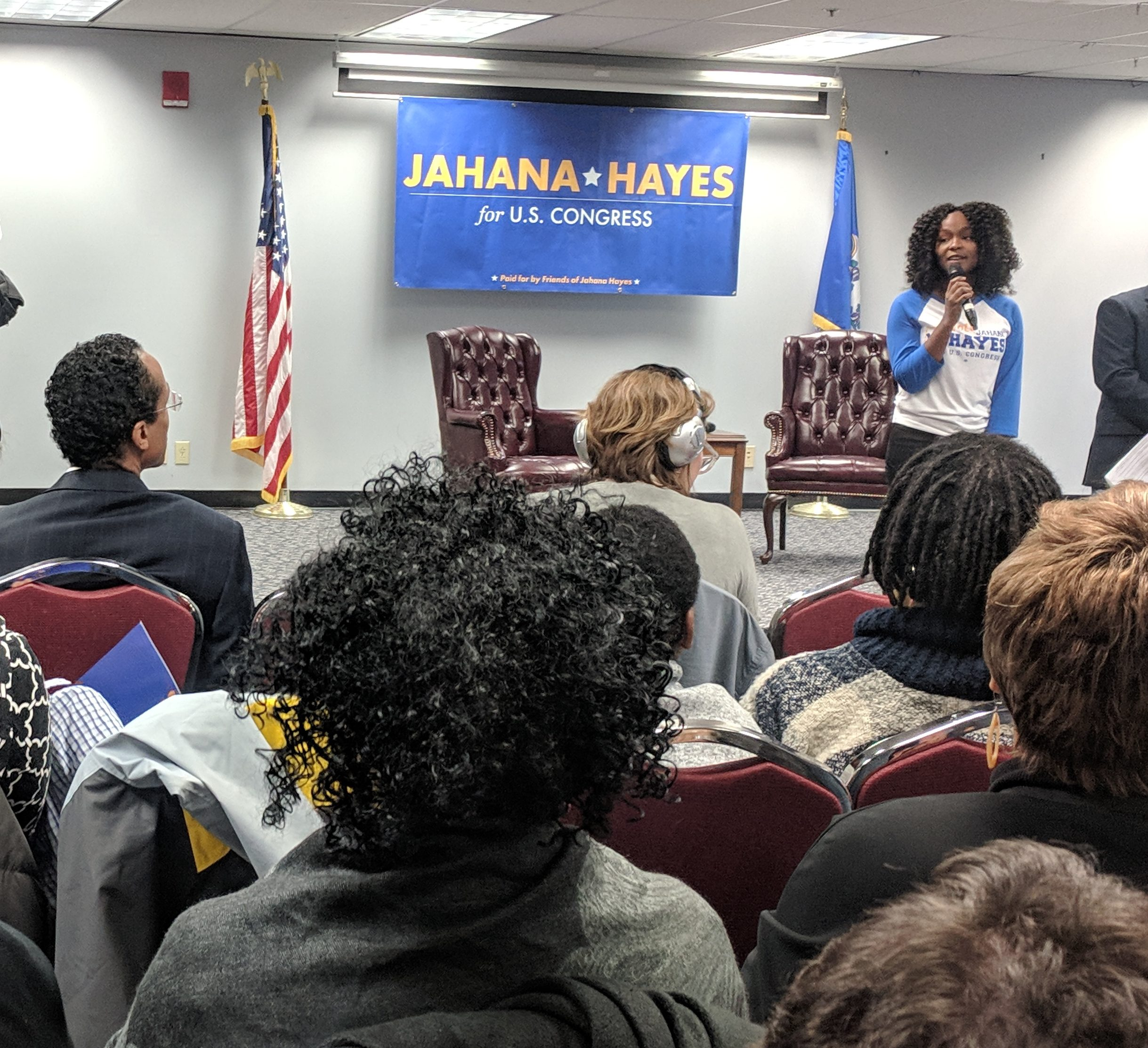 An 'army of young people' propels and inspires Jahana Hayes