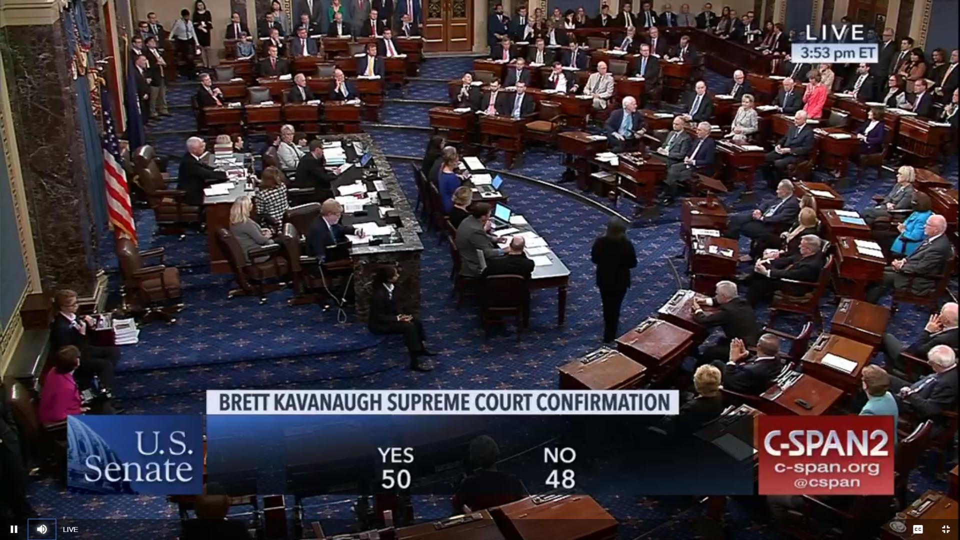 Senate confirms Kavanaugh to Supreme Court