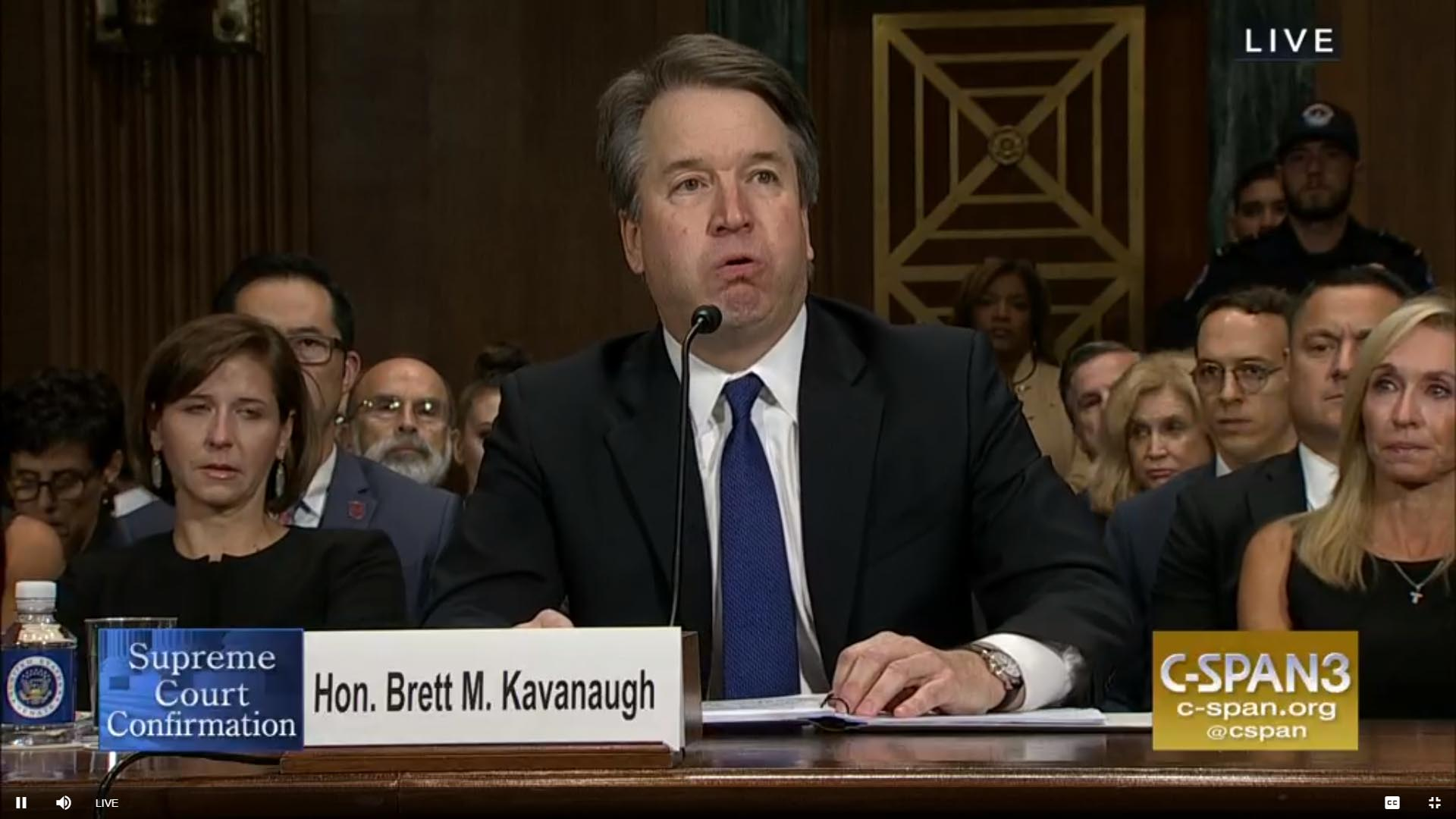 The Kavanaugh battle is not about sexual harrassment
