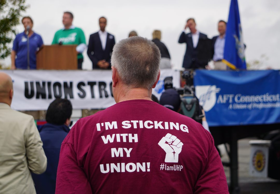 Unions push back against Lamont's efforts to shrink state workforce