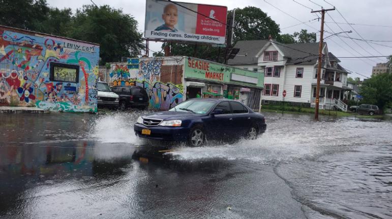Sandy flooding in Bridgeport. CREDIT???