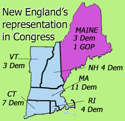 Blue wave that swamped New England endangers Yankee Republicans