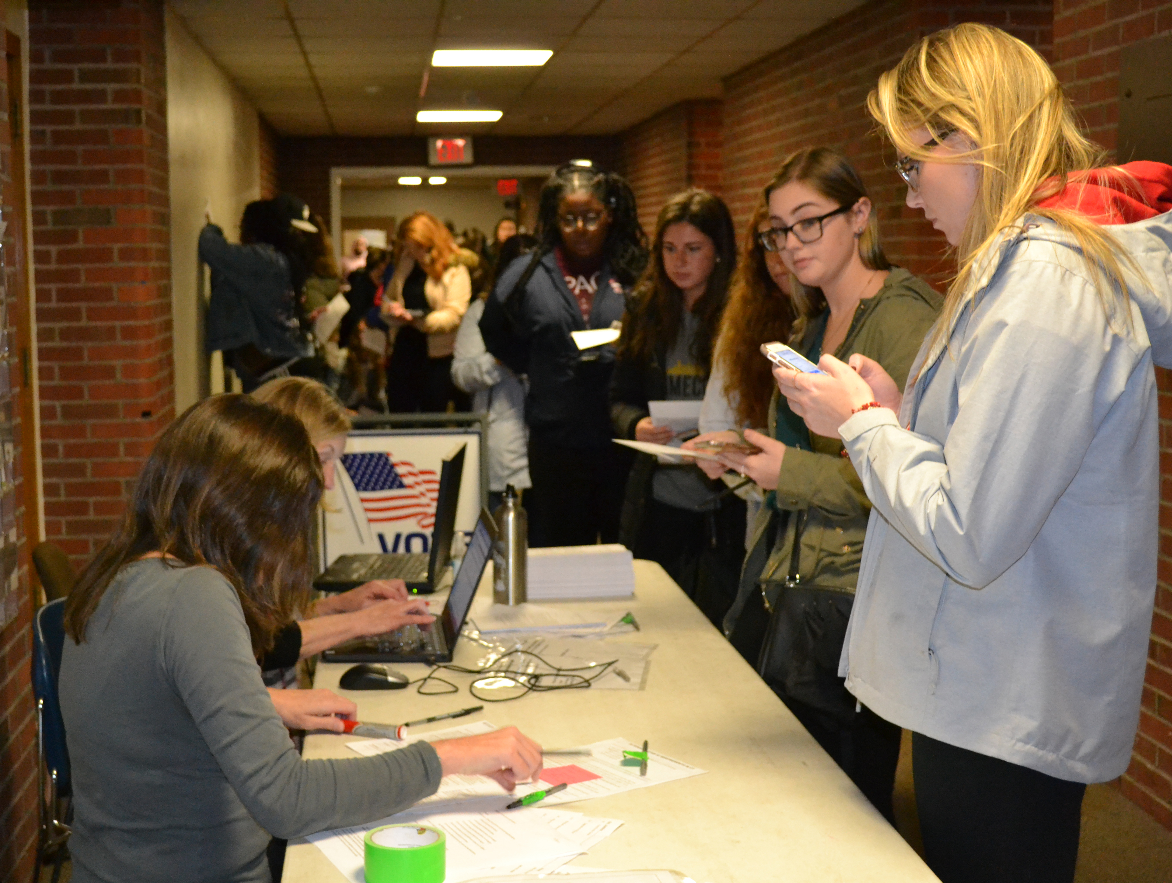 Crowds, humidity, aging machines were problems at the polls