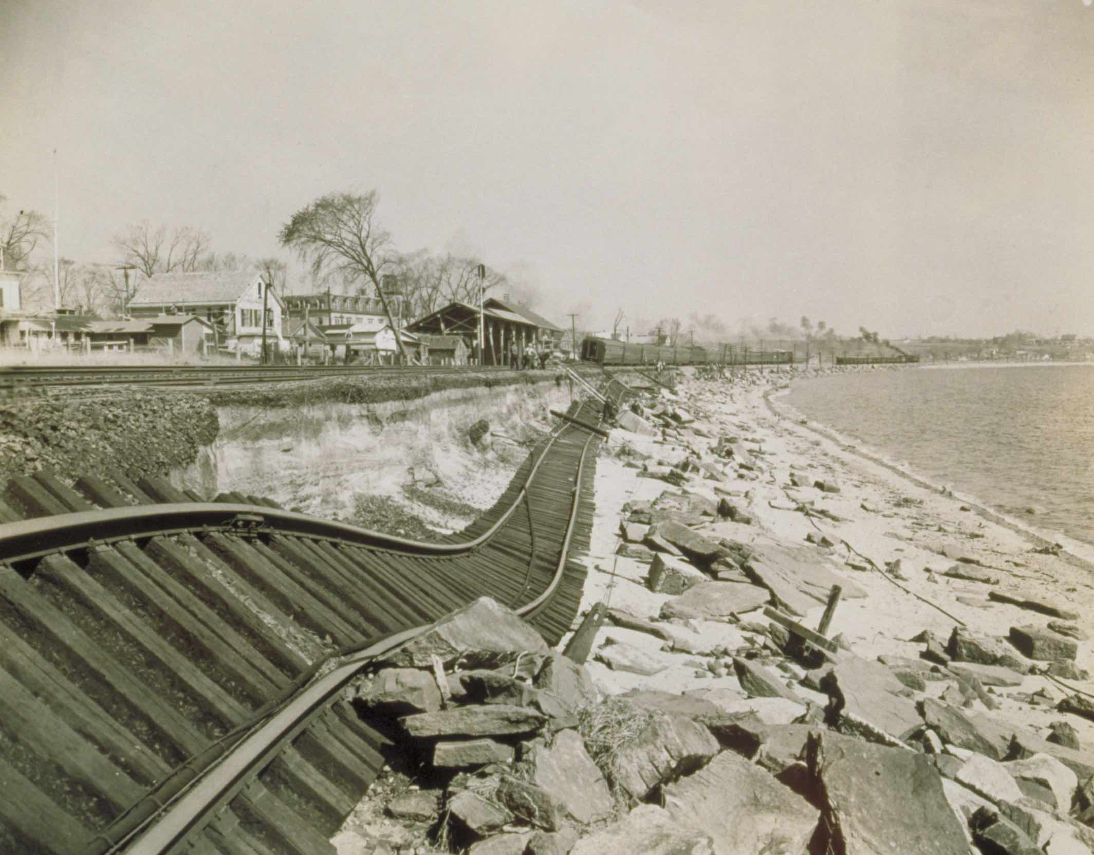 Niantic, Hurricane of 1938 (Courtesy: Archives & Special Collections at the Thomas J. Dodd Research, University of Connecticut Libraries)