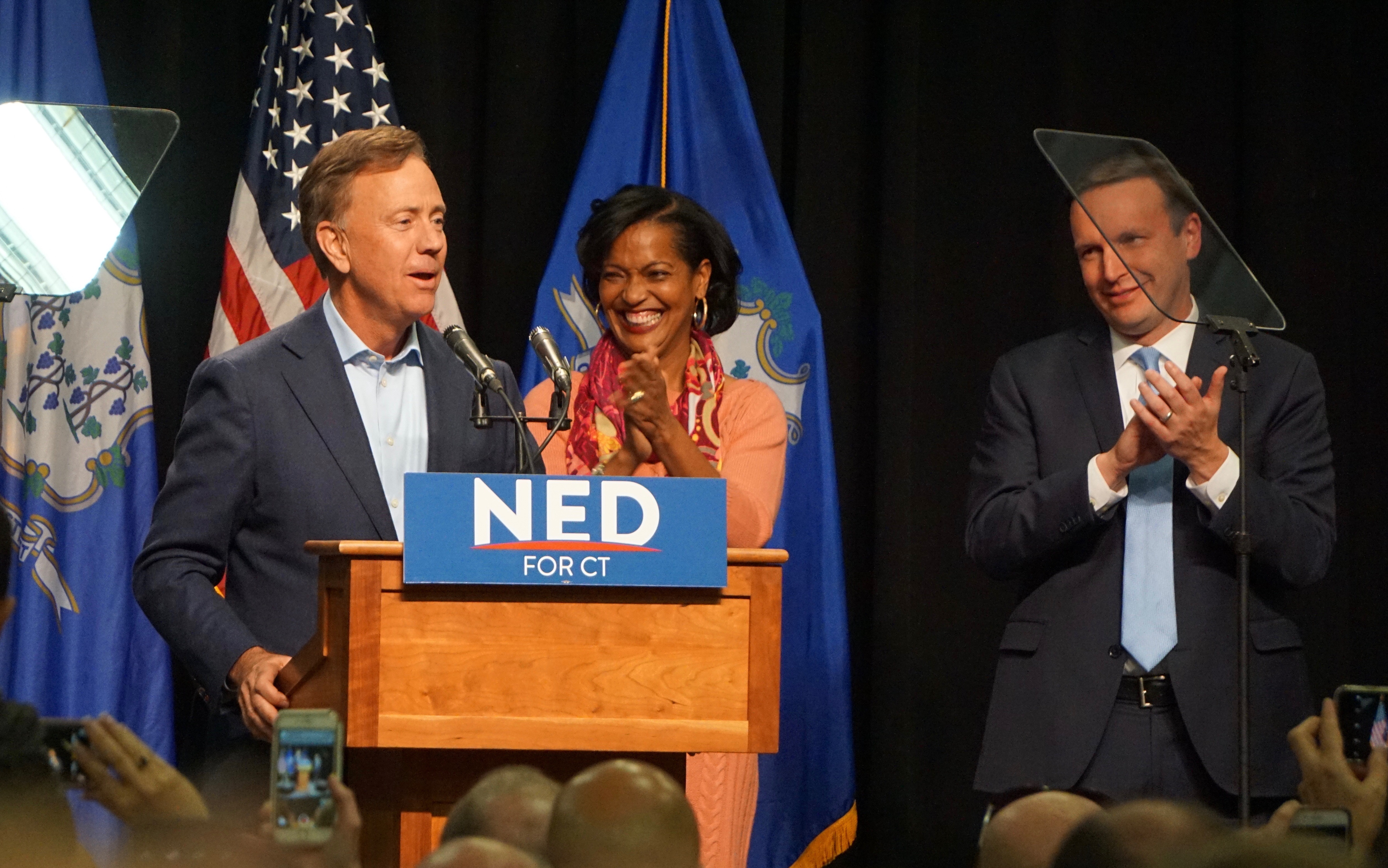 For now, silence from Lamont on Dems' next party chair
