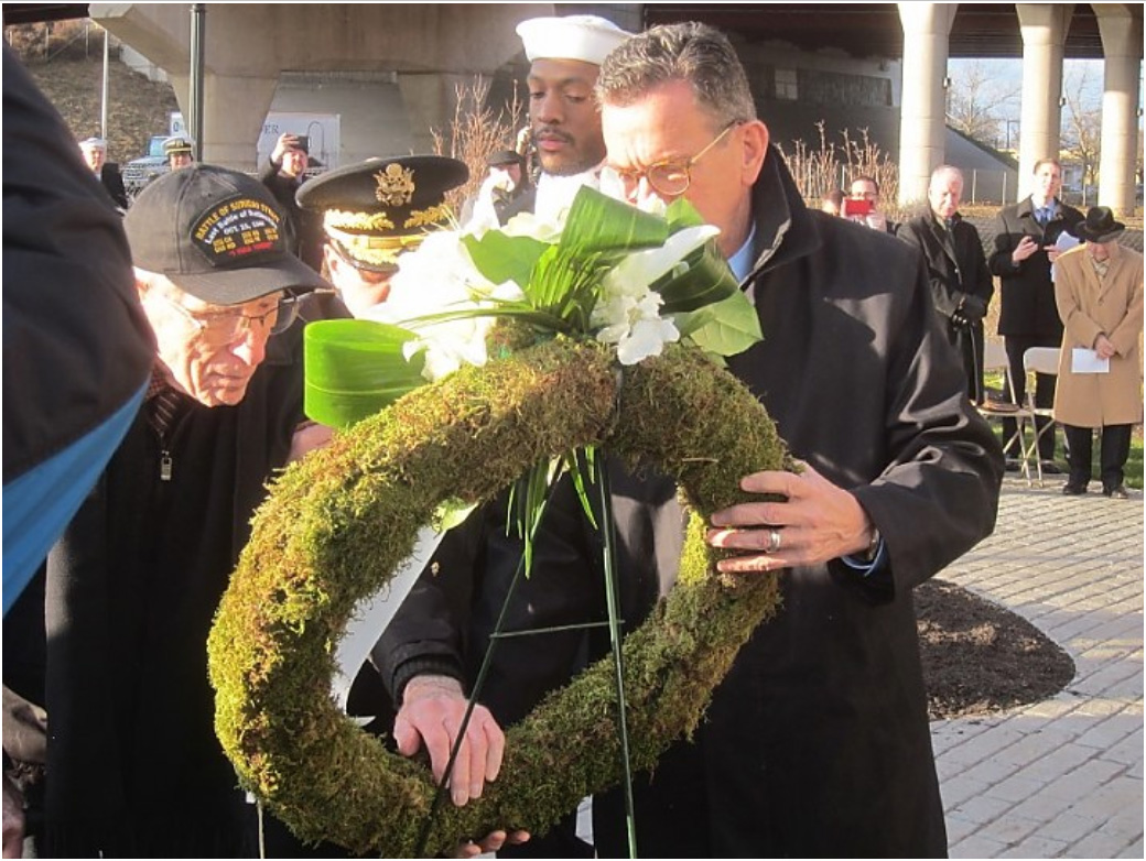 Pearl Harbor Memorial Park dedicated in New Haven