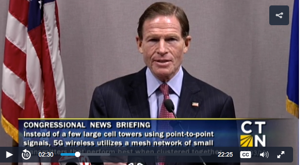 Blumenthal wants FCC to prove 5G wireless technology is safe