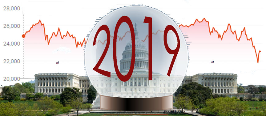 Predictions for 2019 after a so-so record of predicting 2018