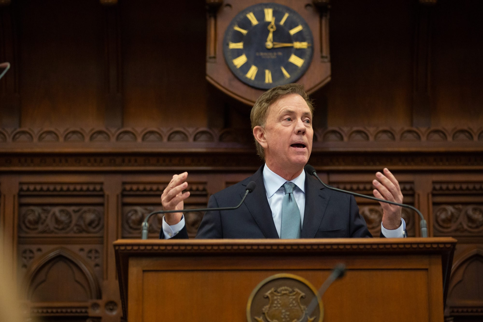 Connecticut's legacy of debt weighed heavy on Lamont's first budget