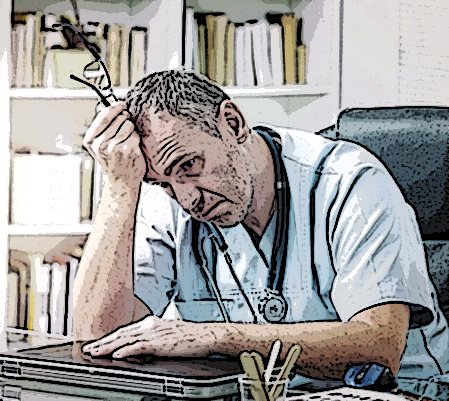 Primary care MDs often overworked, dissatisfied, burned out