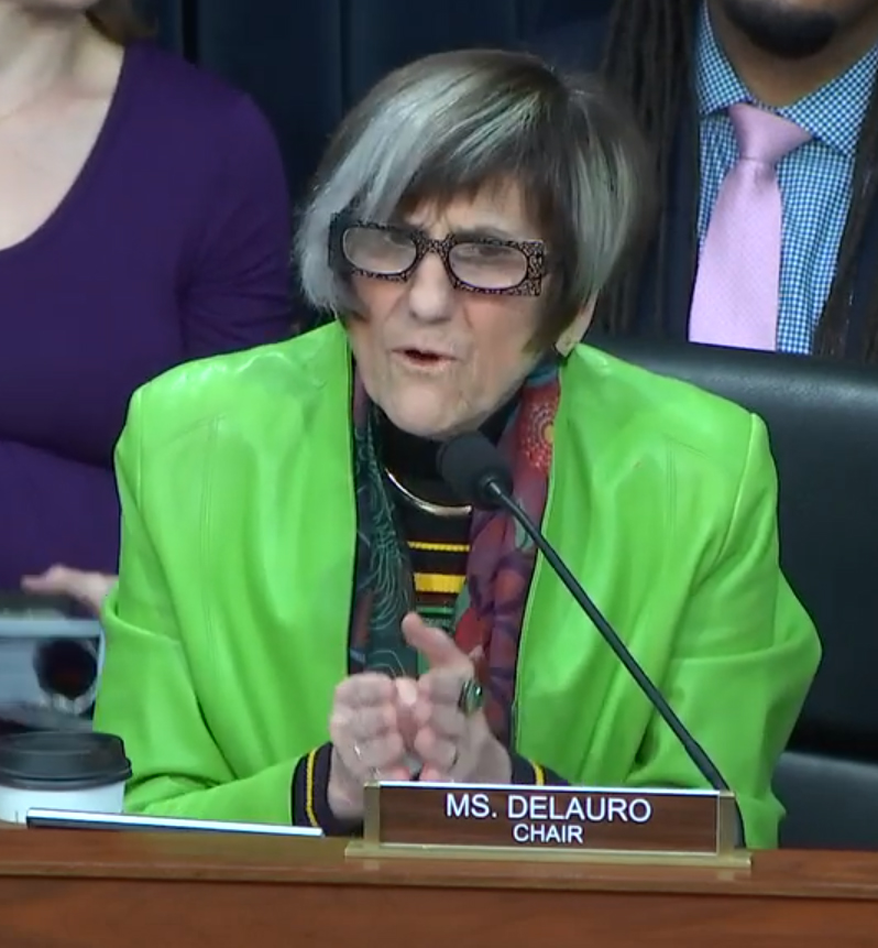 DeLauro takes on DeVos failed charter schools, education budget cuts