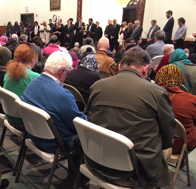 Solidarity in a Connecticut mosque, and polarization