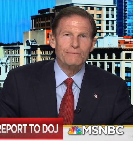 Trump campaign tries to blacklist Blumenthal on television