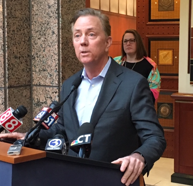 Lamont favors paid leave that is privately managed