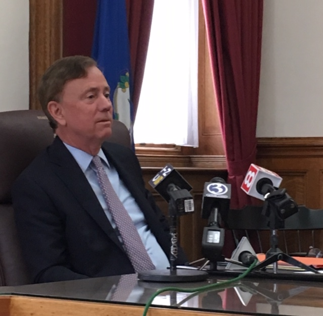 Lamont tries constructive engagement with Trump
