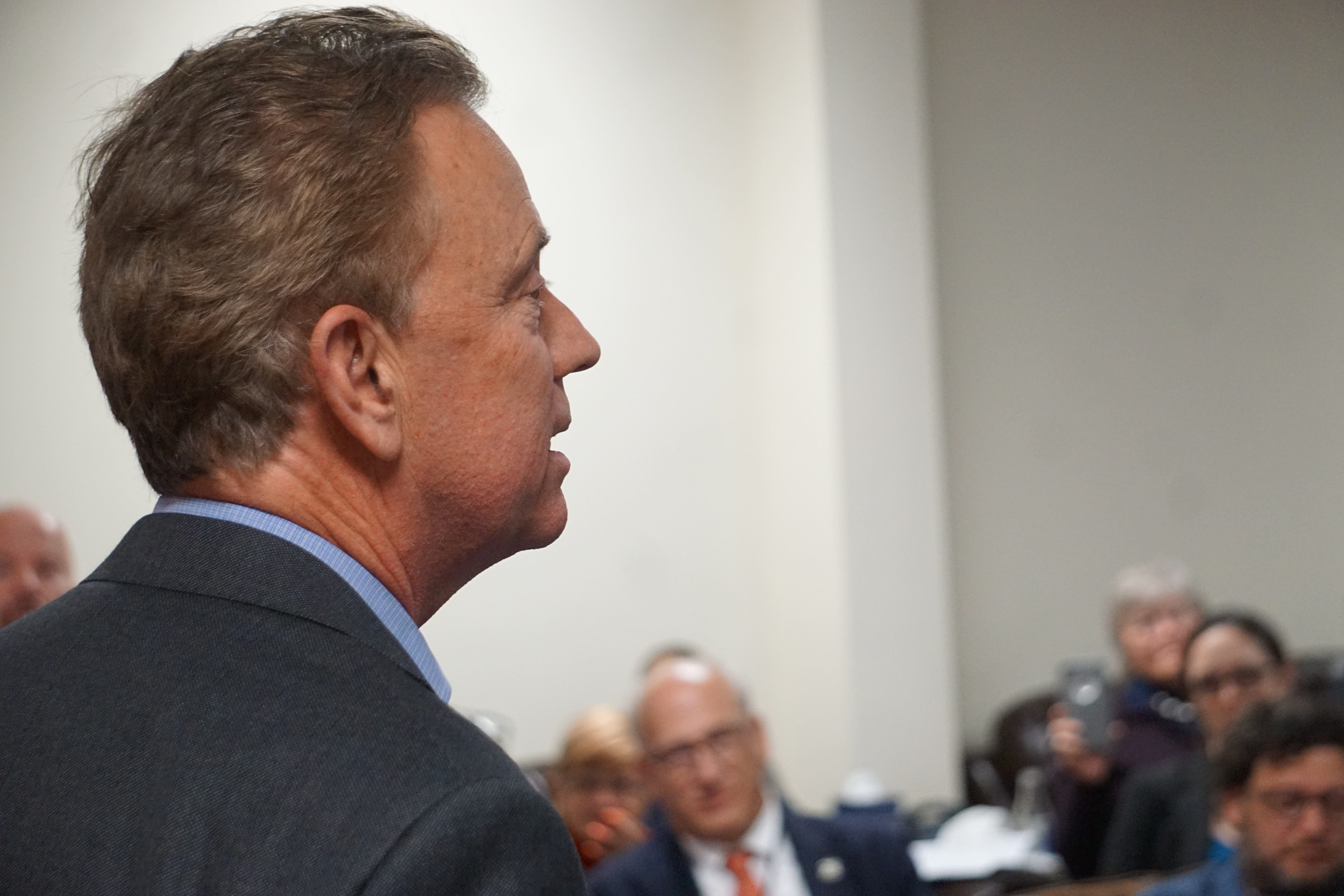 Lamont talks tolls to Dems: 'I know I put you in a tough vote'