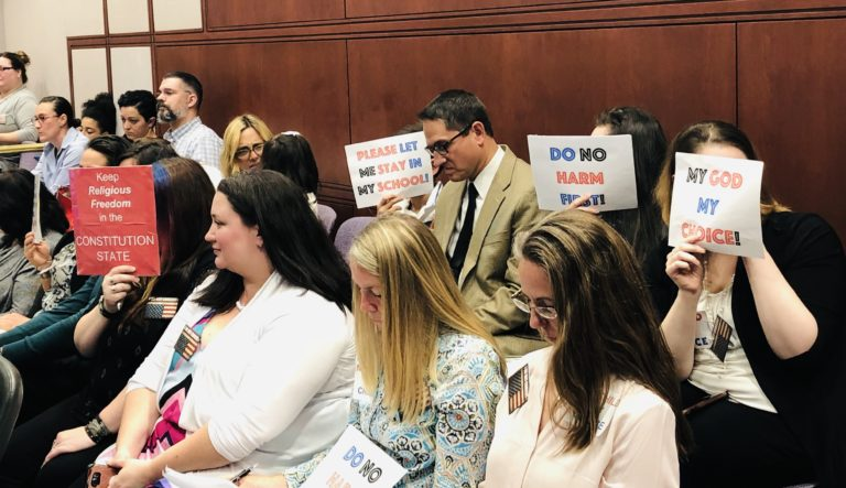 Lawmakers poised to announce plan for repealing religious exemption on vaccines