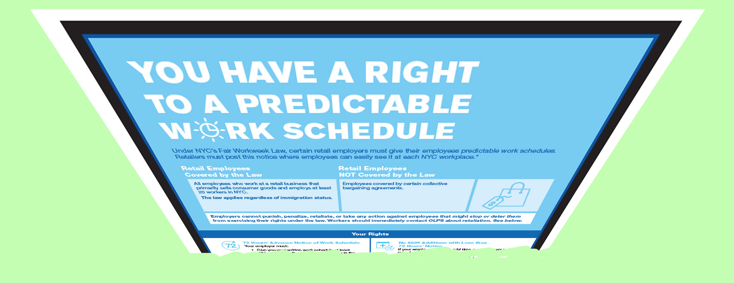 It's time for a fairer work schedule law