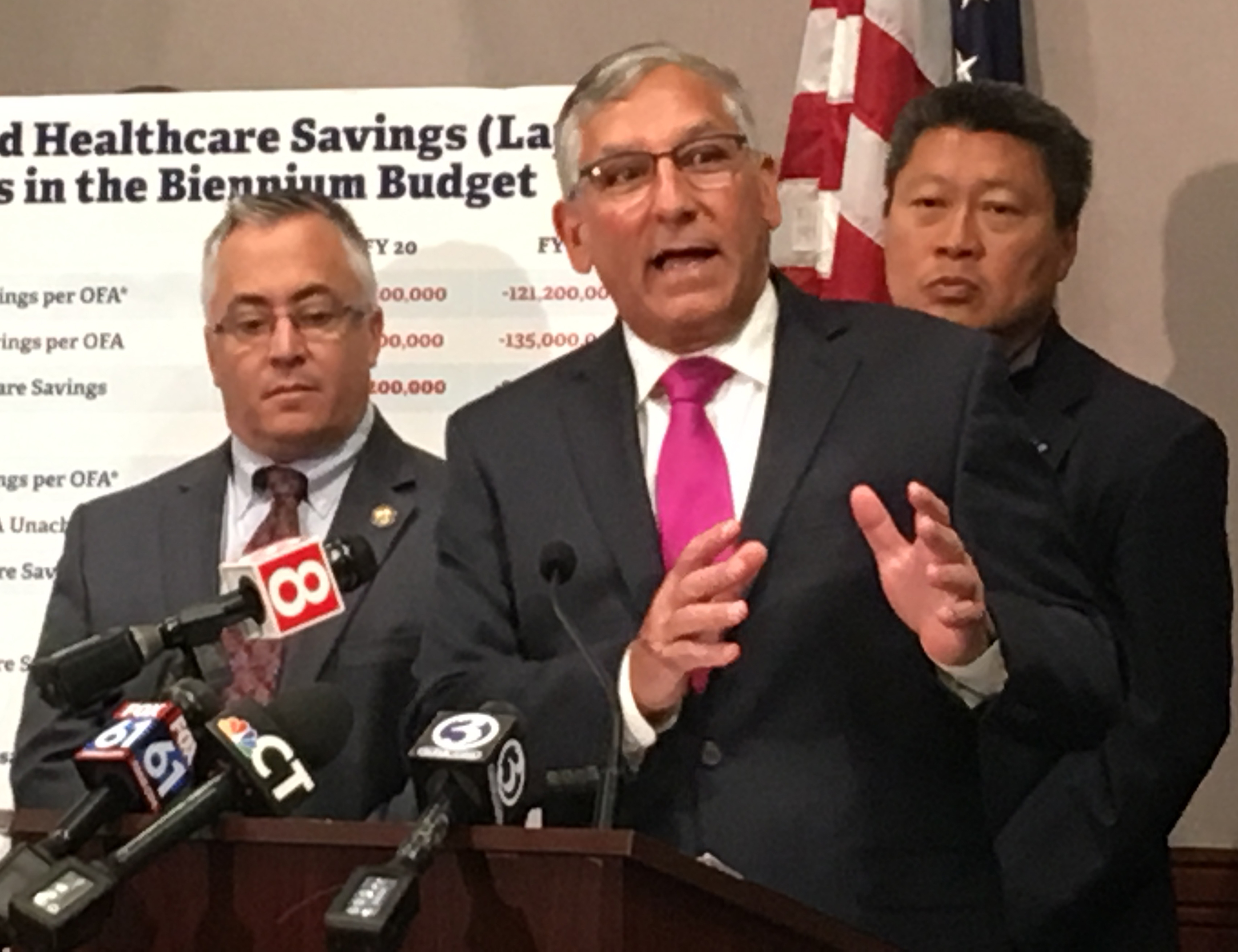 Partisan battle heats up over whether new CT budget is balanced