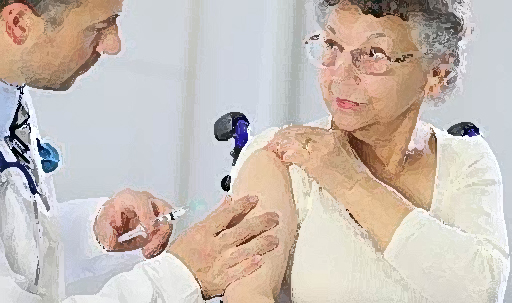 Fewer vaccinations of senior citizens would endanger them