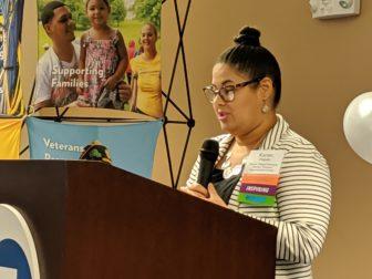 Karen Delgado attended a program at Women's Empowerment Center to help her start her own business.
