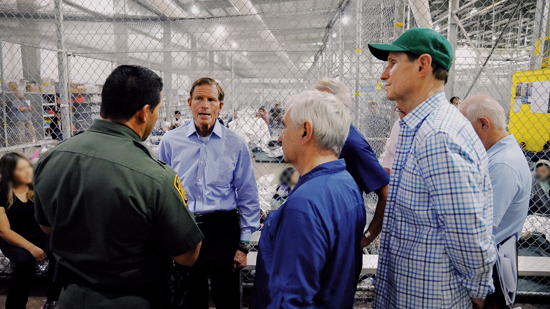 Blumenthal, other Dems, tour 'awful' migrant detention centers at Mexican border