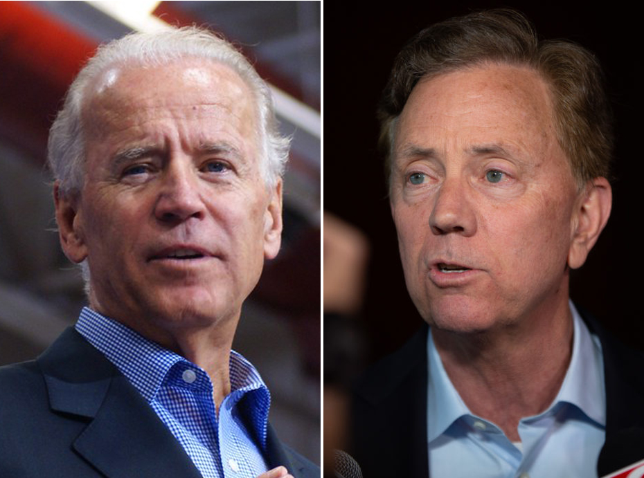 Lamont endorses Biden as other Dems wait and watch