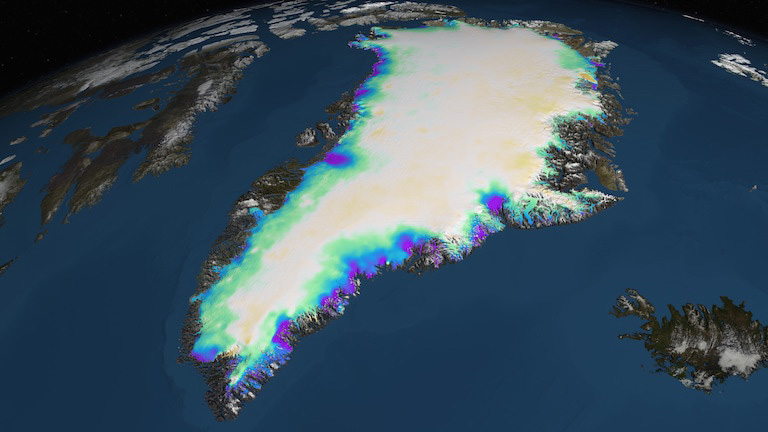 Greenland is melting and that ain't good