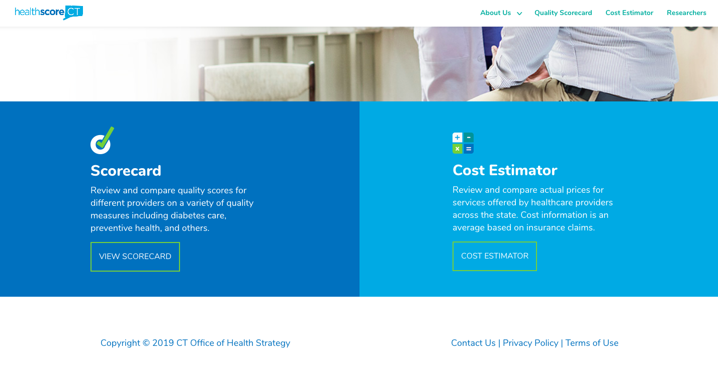 Office of Health Strategy launches online health care rating system