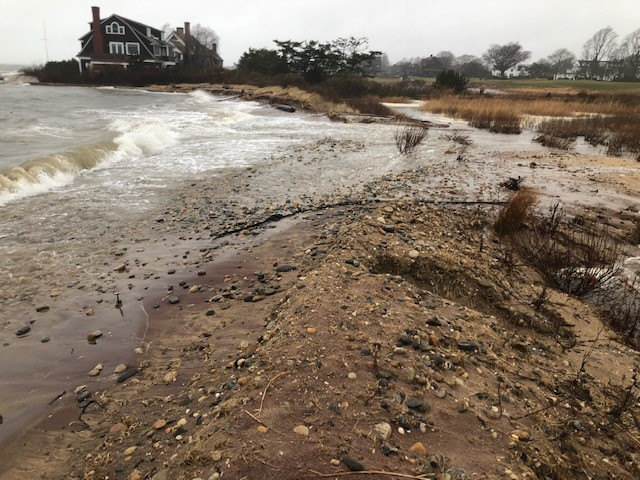 CT's small solutions to climate change: saving the Hepburn dune with a living shoreline