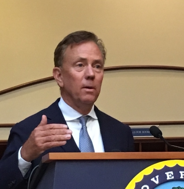 Lamont: Don't even think about spending projected surplus