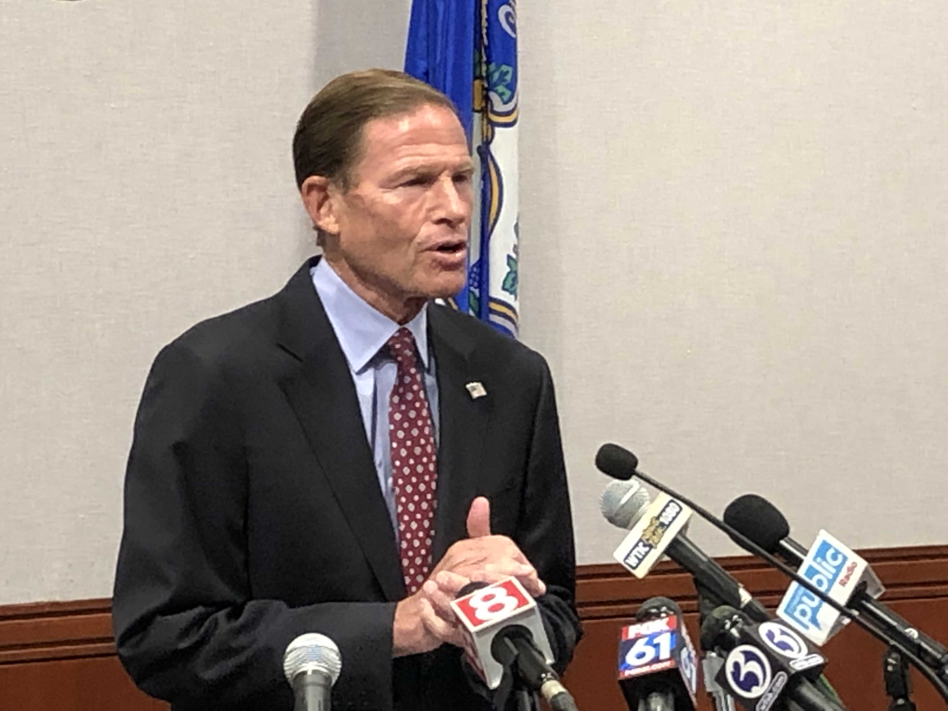 Blumenthal optimistic about GOP support in Senate for impeachment