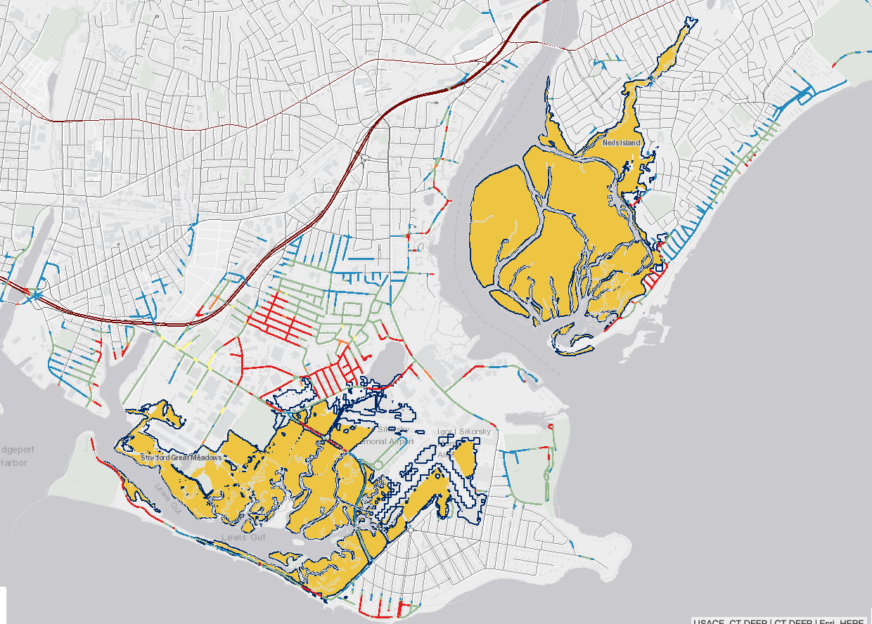 CT's small solutions to climate change: new tool shows effects of sea level rise