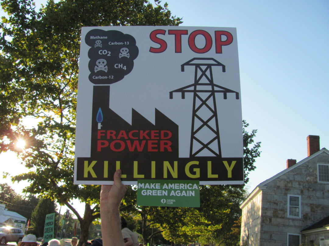 We need green jobs, not a fracked gas power plant in Killingly
