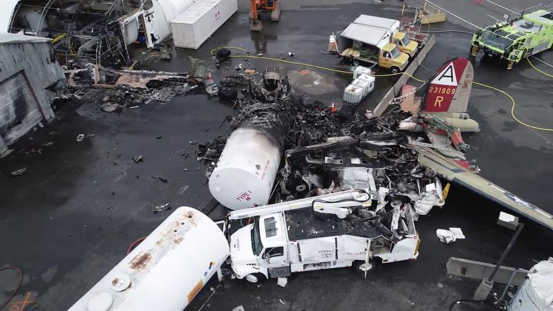 Preliminary report on Bradley Airport crash released, cause yet to be determined