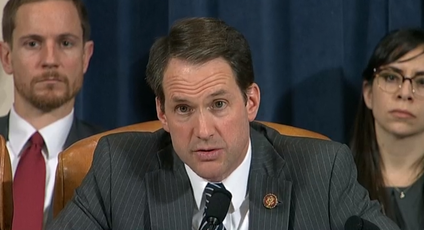 Himes: Dem report details Trump abuses of power, 'high crimes and misdemeanors'