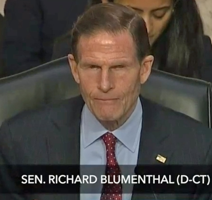 Horowitz tells Blumenthal there was no FBI 'spying' on Trump campaign