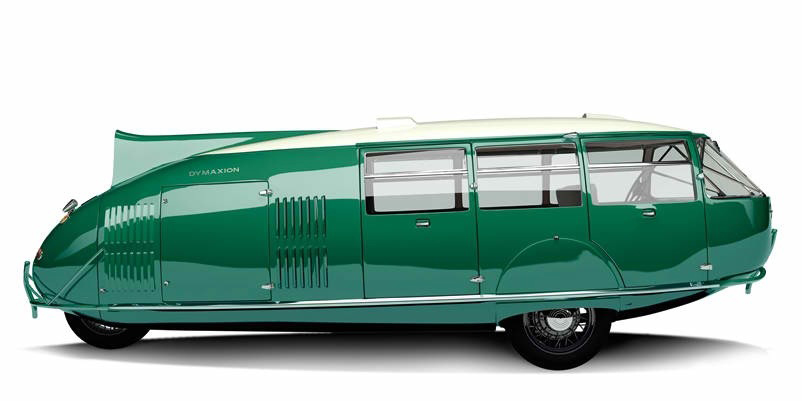 Bridgeport's car of the future: The Dymaxion.