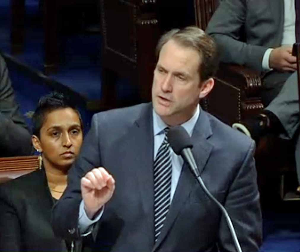 Himes helped establish the New Dems, but some have split with him over Pelosi's role in stimulus talks