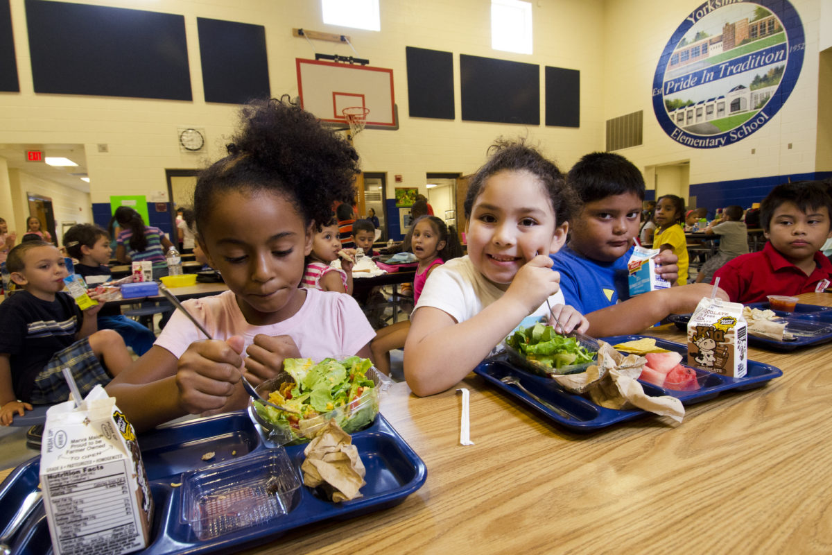 School food service, another divide between rich and poor
