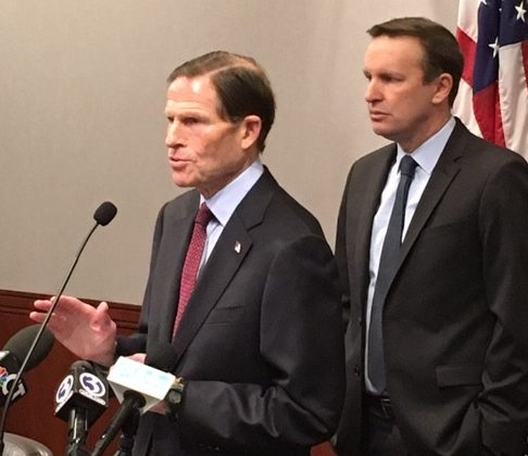 Impeachment standoff continues as Blumenthal, Murphy press for witnesses at Trump's trial