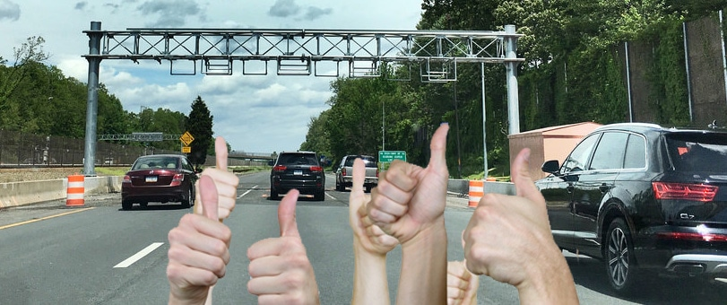 Three cheers for tolls