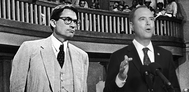 Adam Schiff is Atticus Finch