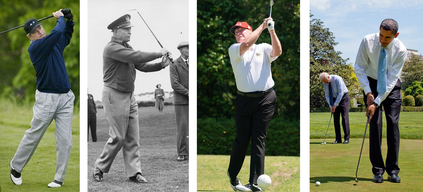 'Fore' more years for our Duffer-in-Chief?