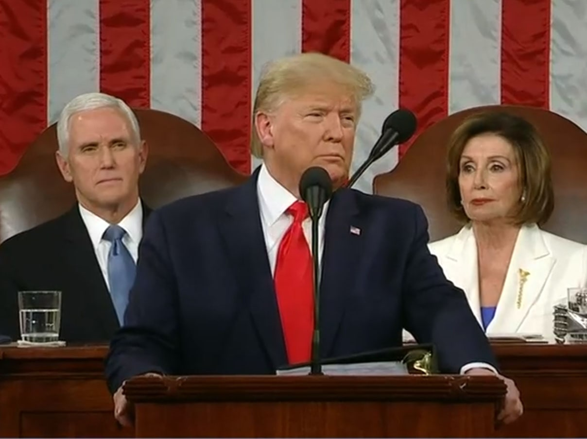 Trump doesn't mention impeachment, but CT Dems still didn't like SOTU