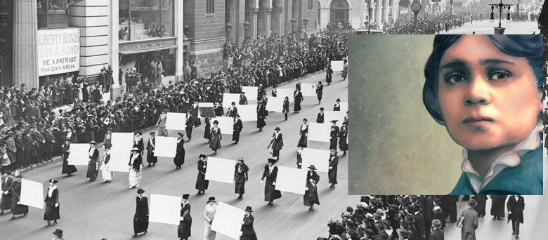 Will black women be celebrated on the anniversary of suffrage?