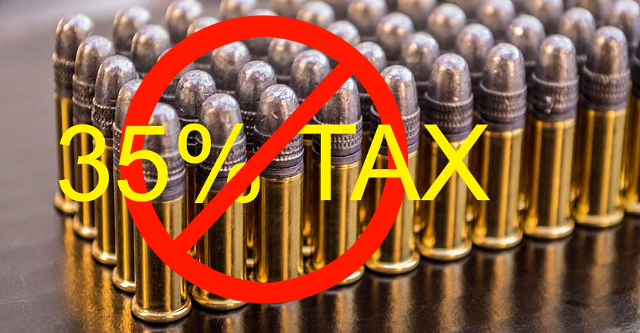 In opposition to an excise tax on ammunition